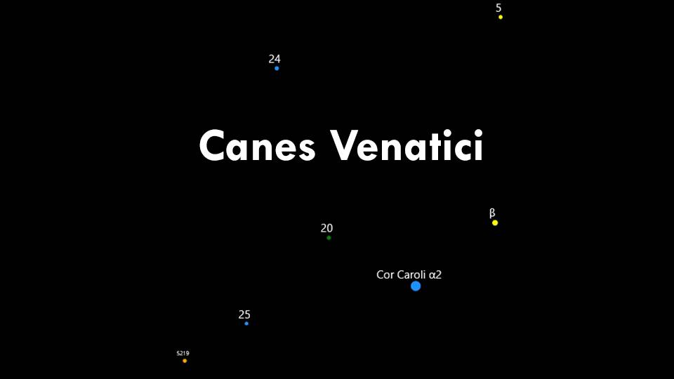 Constellation Canes Venatici
