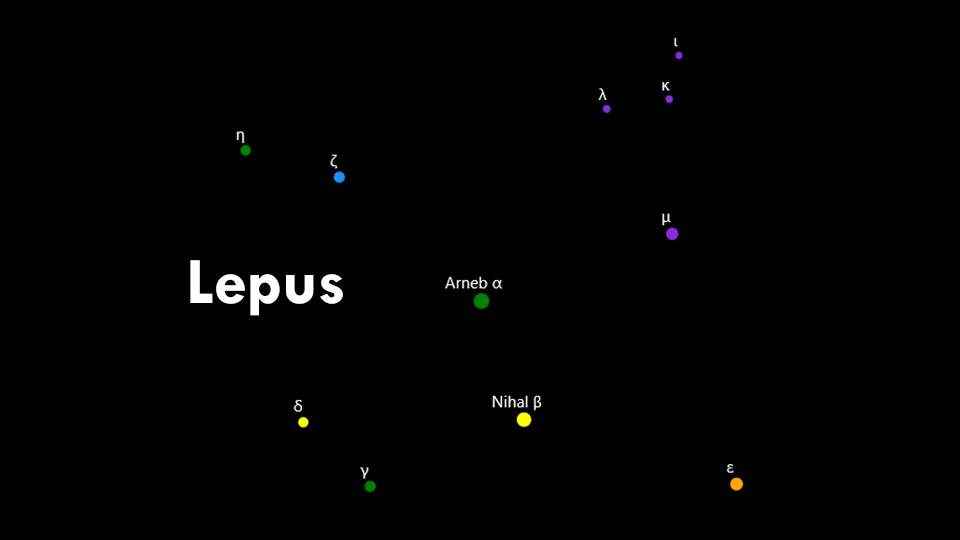 Constellation Lepus
